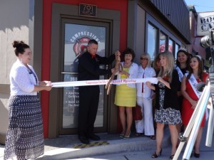 Ribbon cutting event with Mayor Lent and the Bremerton, Silverdale Chamber of Commerce.